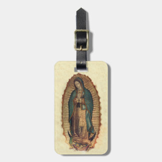 Nuestra señora de Senora Nuestra de Guadalupe Etiqueta Para Equipaje
