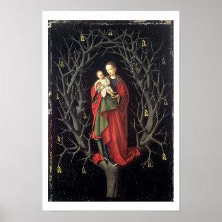 Nuestra señora del árbol seco c.1450 (aceite en el impresiones