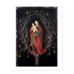 Nuestra señora del árbol seco c.1450 (aceite en el tarjetas postales