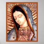 Nuestra señora del busto del Virgen María de Póster