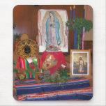 Nuestra señora del cojín de ratón de Guadalupe Tapete De Raton