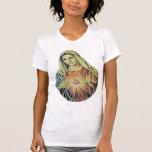 Nuestra señora del corazón sagrado camiseta
