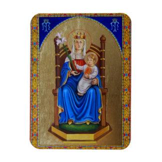 Nuestra señora del imán del icono de Walsingham