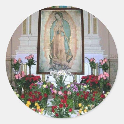 Nuestra señora del pegatina de Guadalupe
