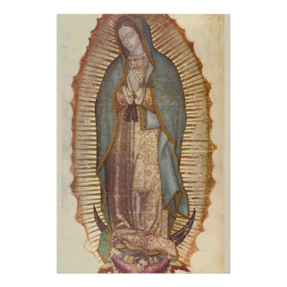 NUESTRA SEÑORA OF GUADALUPE 30 x 45 Póster
