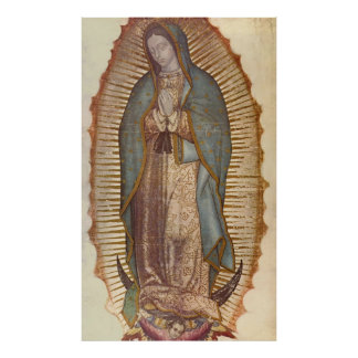 """Nuestra señora Of Guadalupe 36"""" x 60"""" Póster"""