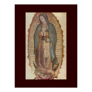 NUESTRA SEÑORA OF GUADALUPE (EXTRA GRANDE 40X53) PÓSTER