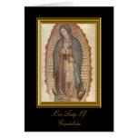 Nuestra señora Of Guadalupe Felicitaciones