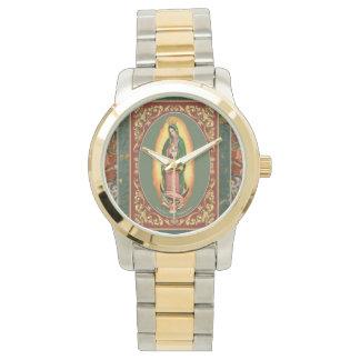 Nuestra señora Of Guadalupe Reloj