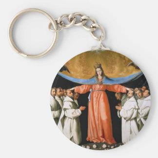 NUESTRA SEÑORA OF MERCY LLAVERO REDONDO TIPO PIN