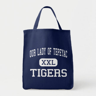 Nuestra señora Of Tepeyac - tigres - alto - Chicag Bolsas De Mano