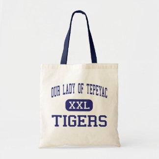 Nuestra señora Of Tepeyac - tigres - alto - Chicag Bolsas