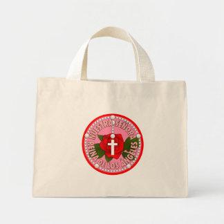 Nuestra Señora Reina de Los Ángeles Mini Tote Bag