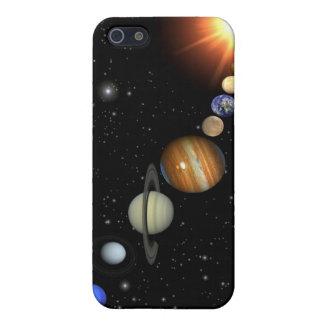 Nuestra Sistema Solar iPhone 5 Carcasas