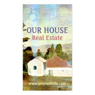 Nuestra tarjeta de visita de las propiedades tarjetas de visita