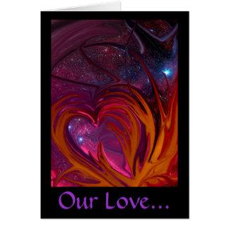 Nuestra tarjeta del amor