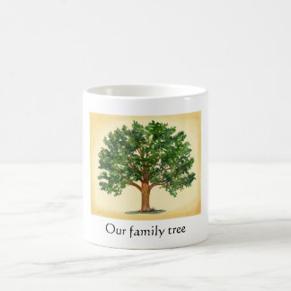 Nuestra taza del árbol de familia