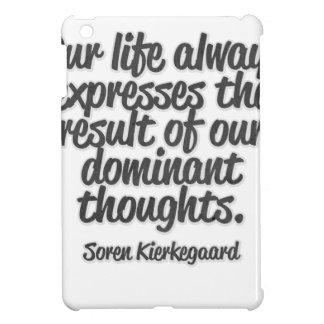 Nuestra vida expresa siempre el resultado de