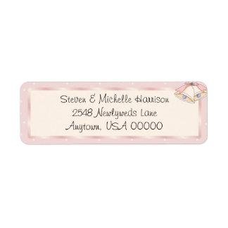 Nuestras etiquetas del remite de Belces de boda Etiqueta De Remite