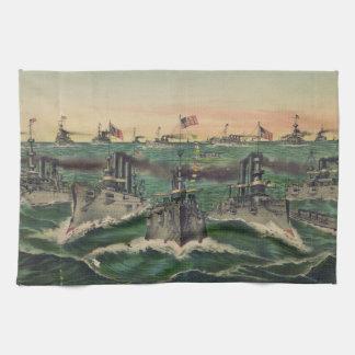 Nuestras flotas victoriosas en cubano riegan al cu toalla