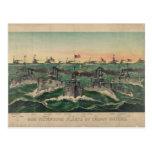 Nuestras flotas victoriosas en cubano riegan al tarjetas postales