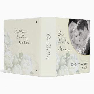 """Nuestras memorias del boda personalizaron el álbum carpeta 2"""""""