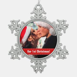 Nuestro 1r navidad adorno