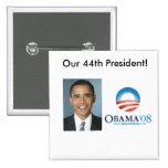 Nuestro 44.o presidente pins