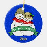 Nuestro 50.o navidad ornaments para arbol de navidad