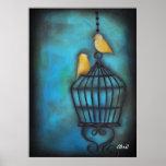 Nuestro amor es pájaros libres póster