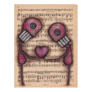 Nuestro Amor Eterno Postal