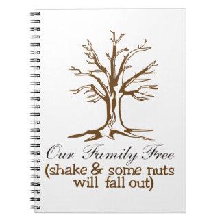 Nuestro árbol de familia note book