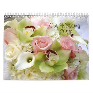 Nuestro boda 2013 calendarios