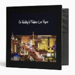 Nuestro boda en el álbum fabuloso de Las Vegas