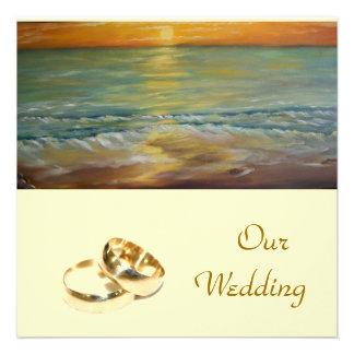 nuestro boda - invitación del boda