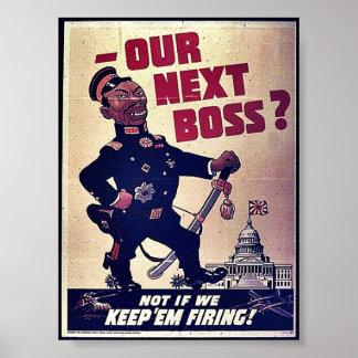 ¿Nuestro Boss siguiente? Póster