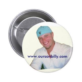 Nuestro botón de Billy del hijo Pin