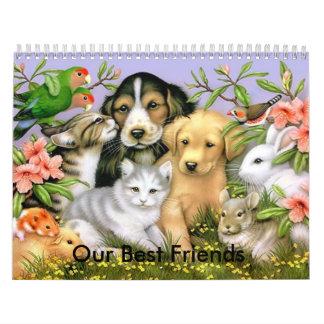 Nuestro calendario de los mejores amigos 2009