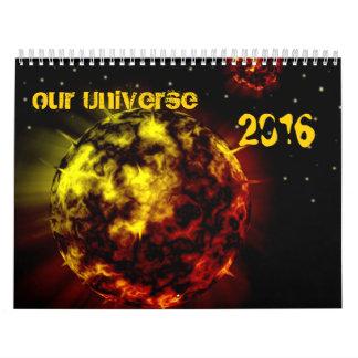 Nuestro calendario del universo 2016