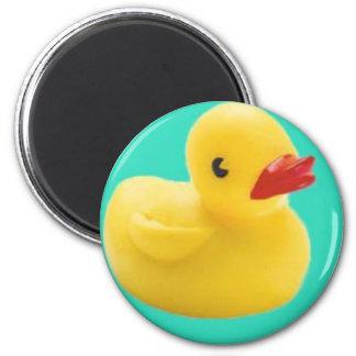 ¡Nuestro favorito Ducky!  ¡Gran diversión para cad Imán Redondo 5 Cm