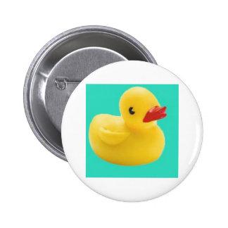 ¡Nuestro favorito Ducky!  ¡Gran diversión para cad Pin Redondo 5 Cm