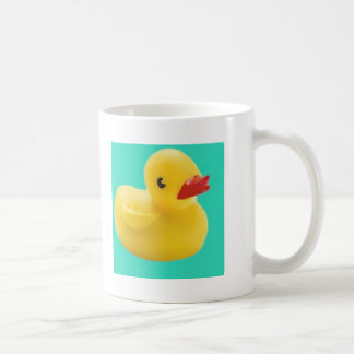 ¡Nuestro favorito Ducky!  ¡Gran diversión para cad Taza Básica Blanca