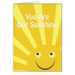Nuestro fiesta de la sol invita tarjetas