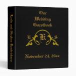 """""""Nuestro Flourish de oro del Guestbook del boda"""" -"""
