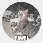 ¡Nuestro gato, anecdotario que parece asustadiza! Pegatina