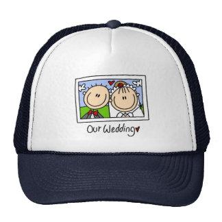 Nuestro gorra del boda