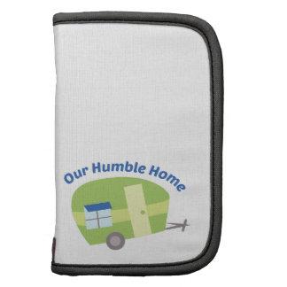 Nuestro hogar humilde organizador