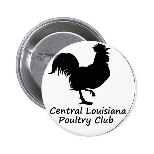 Nuestro logotipo del club pin redondo 5 cm