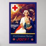 Nuestro ~ más grande WW1 de la enfermera del Póster