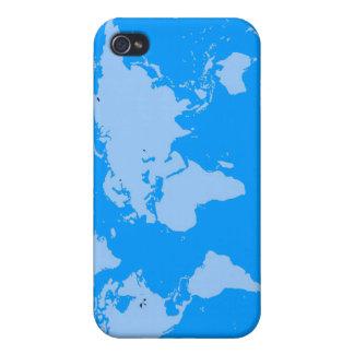 Nuestro mundo azul iPhone 4 protector